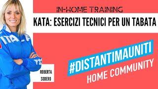 #DistantiMaUniti #Karate Alleniamoci a casa