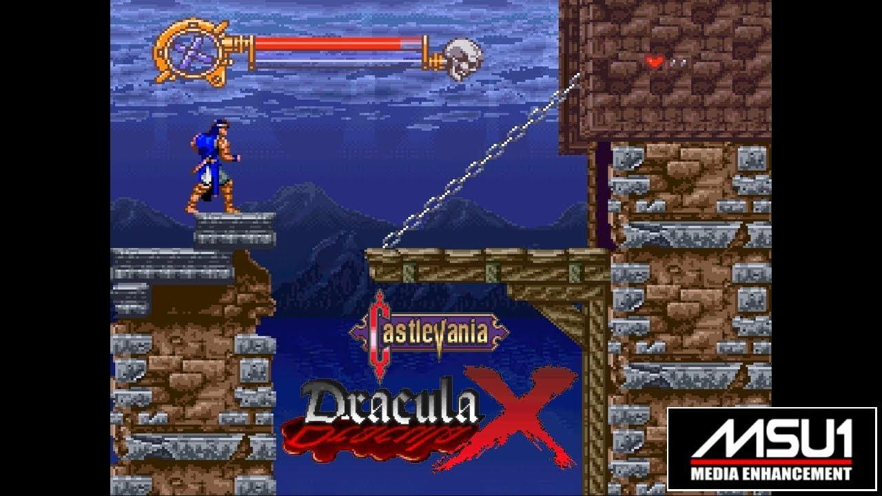 Snes Msu1 Castlevania Dracula X Eu Castlevania Vampire S Kiss Youtube