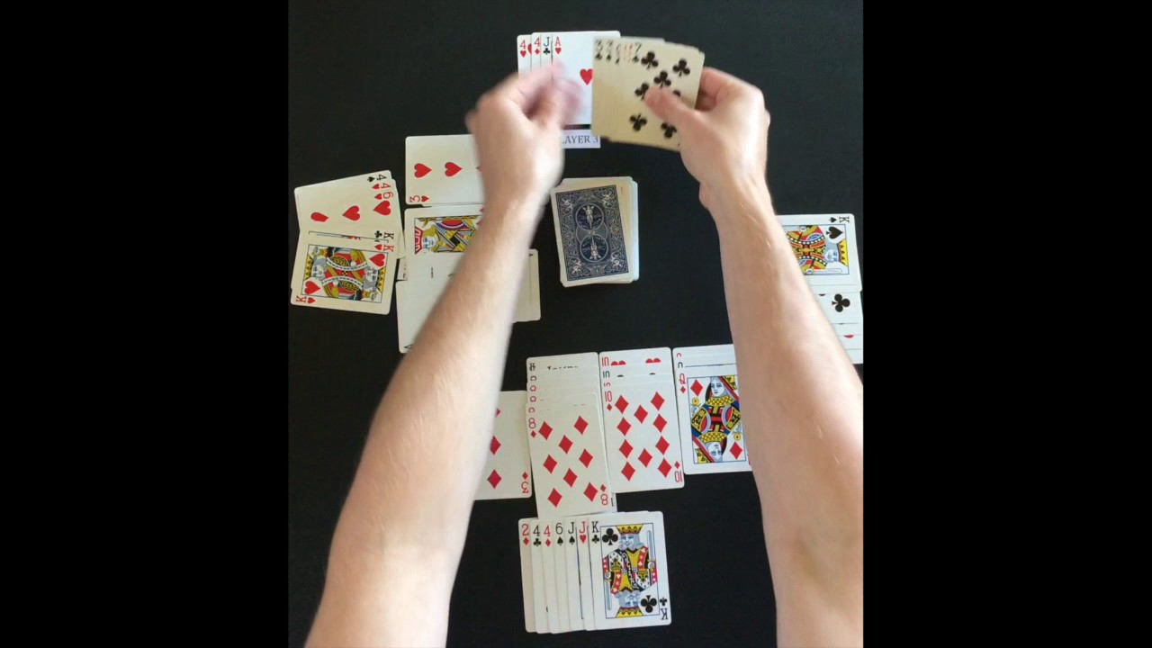 image relating to Printable Rules for Hand and Foot Card Game identified as How Towards Participate in Canasta (4 Participant)
