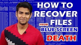 How to Recover Lost Files from Crashed Computer/Unbootable Hard Drive/Blue Screen of Death?