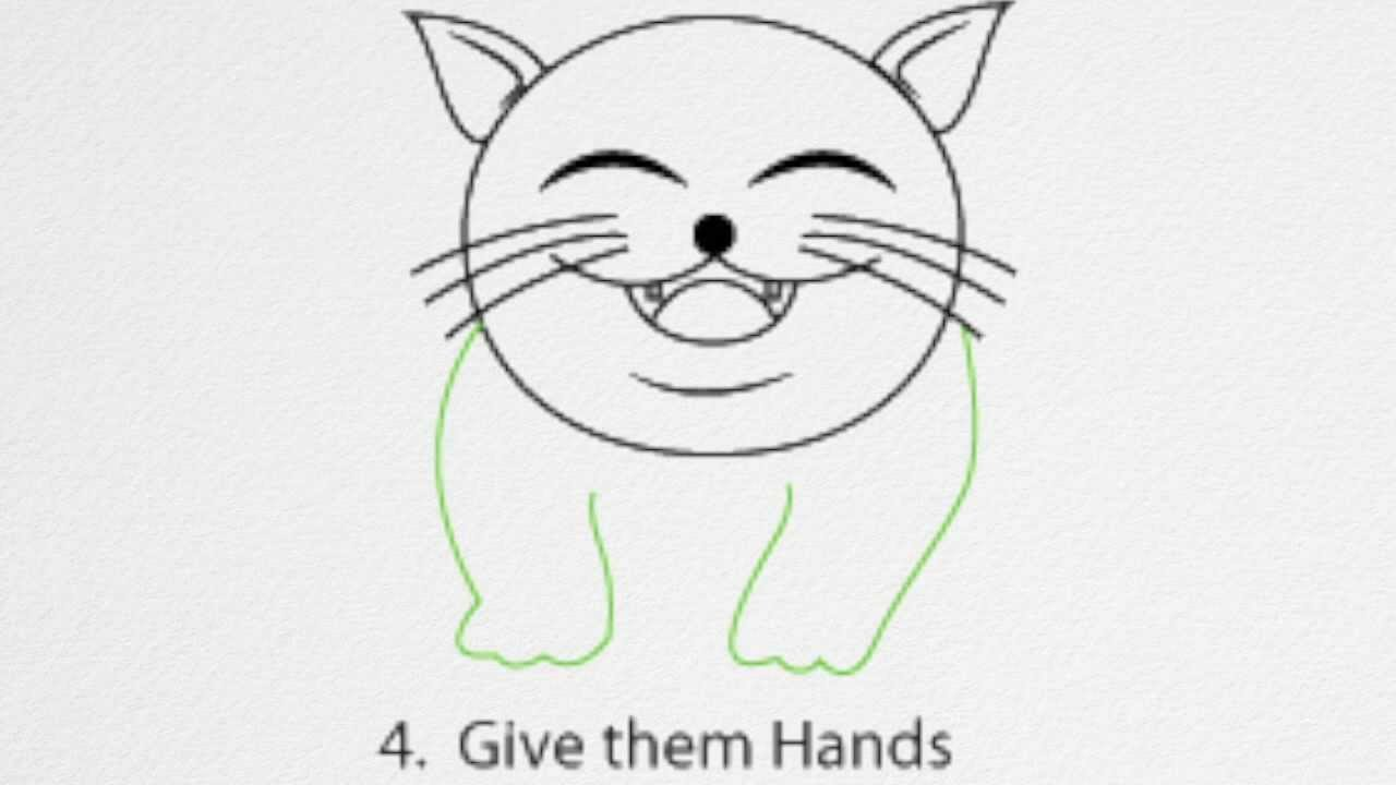 How to draw a cat step by step youtube altavistaventures Gallery