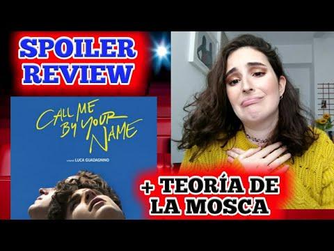CALL ME BY YOUR NAME SPOILER REVIEW + TEORÍA DE LA MOSCA | Elena in Movieland 🎬