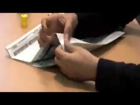 Cách làm túi giấy đựng quà, đồ vặt tặng đơn giản từ báo cũ