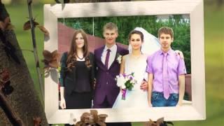 Свадебное слайд шоу. Видеоограф на свадьбу в Нижнем Новгороде Кравцова Ольга