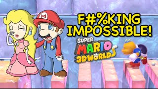 FINAL LEVEL! F#%KING IMPOSSIBLE! [SUPER MARIO 3D WORLD] [Champion