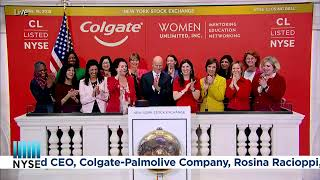 COLGATE-PALMOLIVE COMPANY (NYSE: CL) RINGS THE NYSE CLOSING BELL®
