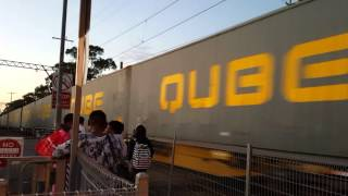 QUBE Freight Train Pakenhan Cranbourne Line