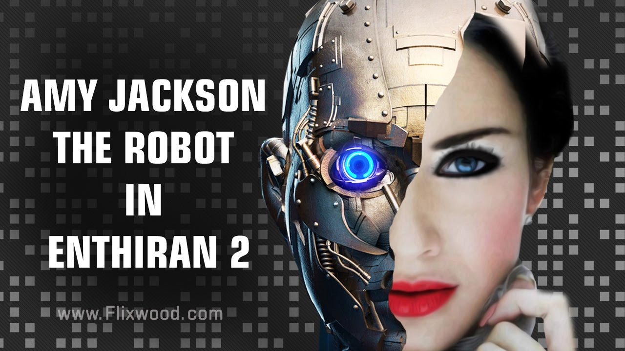Amy Jackson As Robot In Endhiran 2
