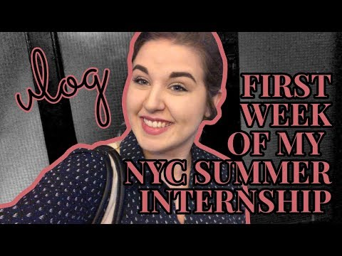 WEEK IN THE LIFE  |  First Week of My Summer Public Health Internship in NYC