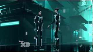 Green Light Cycle (the fastest) - TRON Uprising