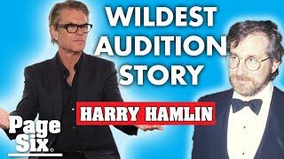 Harry Hamlin's bizarre Indiana Jones audition for Steven Spielberg | Page Six Celebrity News
