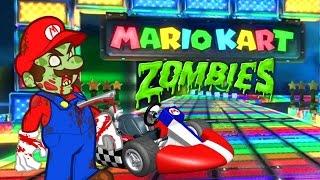Nintendo Mario Kart Zombie Challenge 💀 Call of Duty Black Ops 3 Custom Zombies