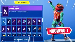 HOW TO DO THE BOOGIE DOWN DANSE FREE on Fortnite: Battle Royale