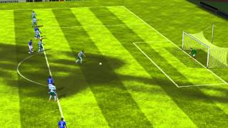 FIFA 14 iPhone/iPad - Cruz Azul vs. Santos Laguna
