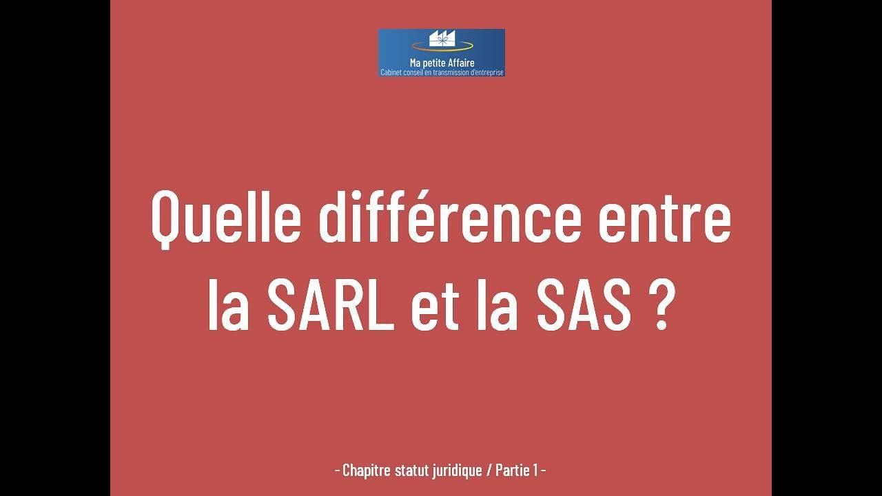 Quelle Difference Entre Sarl Et Sas Likez Merci