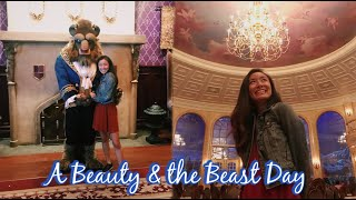 Dining at Be Our Guest & Meeting the Beast! | Disney World Vlog