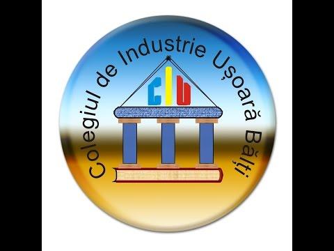 Prezentarea Colegiului de Industrie Ușoară din Bălți