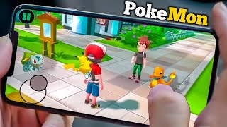 TOP 5 official Pokemon Android games [ good graphics]