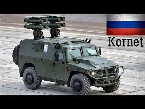 9M133 Kornet -  Modern Russian Man-Portable Anti-Tank Guided Missile (ATGM)