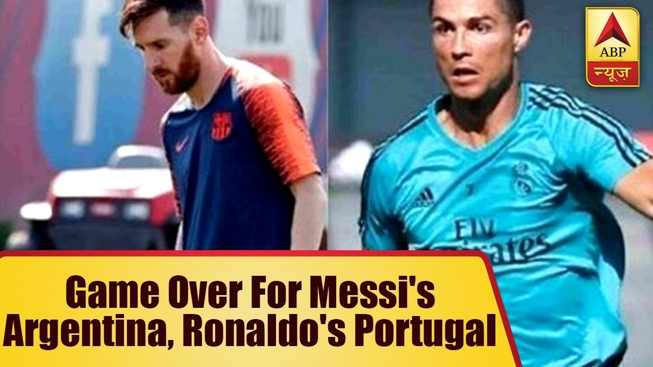 FIFA World Cup 2018: Game Over For Messi's Argentina, Ronaldo's Portugal | ABP News