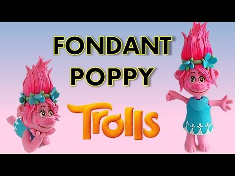 PRINCESS POPPY - How to make a fondant Icing PRINCESS POPPY