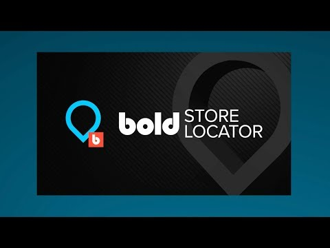 Bold Store Locator App For Shopify