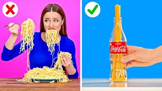 SMART KITCHEN HACKS TO MAKE YOUR LIFE EASIER || Funny Cooking Tips by 123 GO!