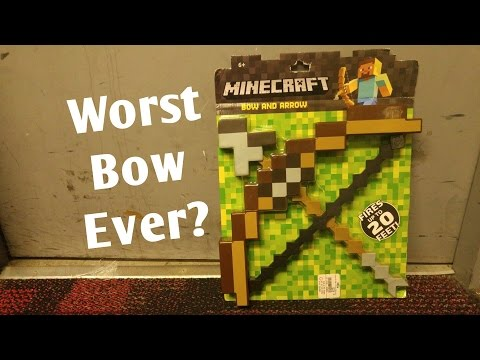 Honest Review: MineCraft Bow and Arrow
