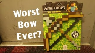 Honest Review: MineCraft Bow and Arrow...