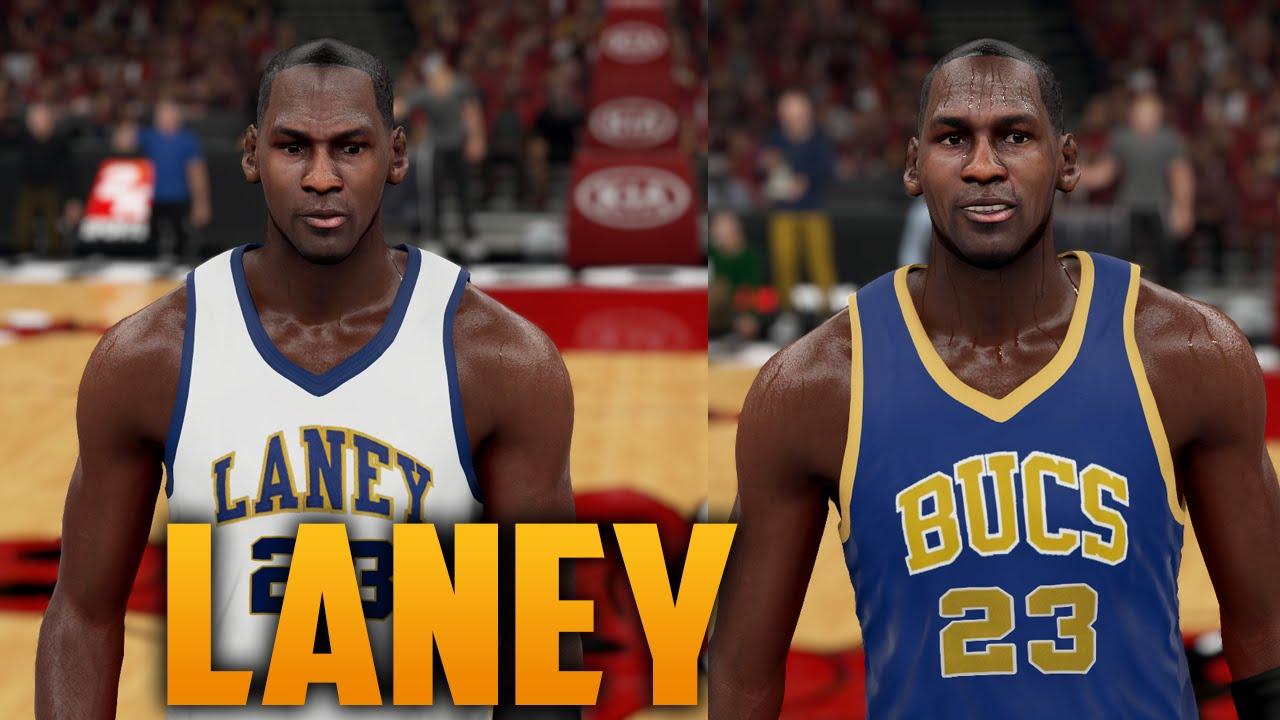 c11ea1bee2c NBA 2K16 Laney Buccaneers Jersey Tutorial (Michael Jordan Highschool ...