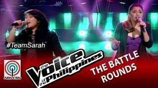 "The Voice of the Philippines Battle Round ""I Don't Wanna Wait"" by Rizza Cabrera and Carol Leus"