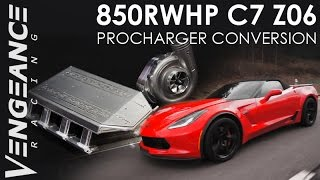850+RWHP C7 Z06 Procharger Conversion - BUILD BEAUTY ACTION by Vengeance Racing