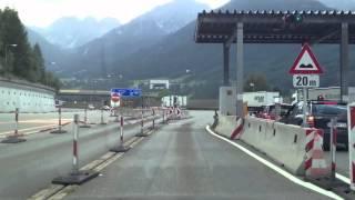 Video Maut Brenner Italien - Österreich