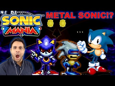 Let's Procrastinate With Sonic Mania (FIRST TIME) - Part 4 METAL SONIC!?!