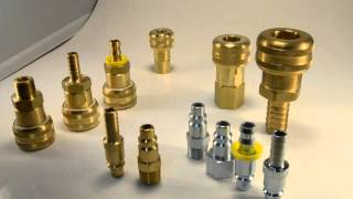 """4 Series 3/8"""" Body Size Quick Coupler"""