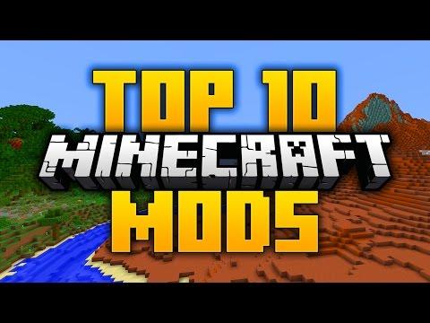 Top 10 BEST Minecraft Mods in 2017! 1.12 (Top 10 Minecraft Mods)