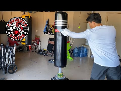 Need A Free Standing Heavy Bag? I REVIEW THIS PEXMOR PUNCHING BAG FROM AMAZON!