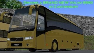 [OMSI] Driving a BRAND NEW Volvo 9900 in Canterbury!