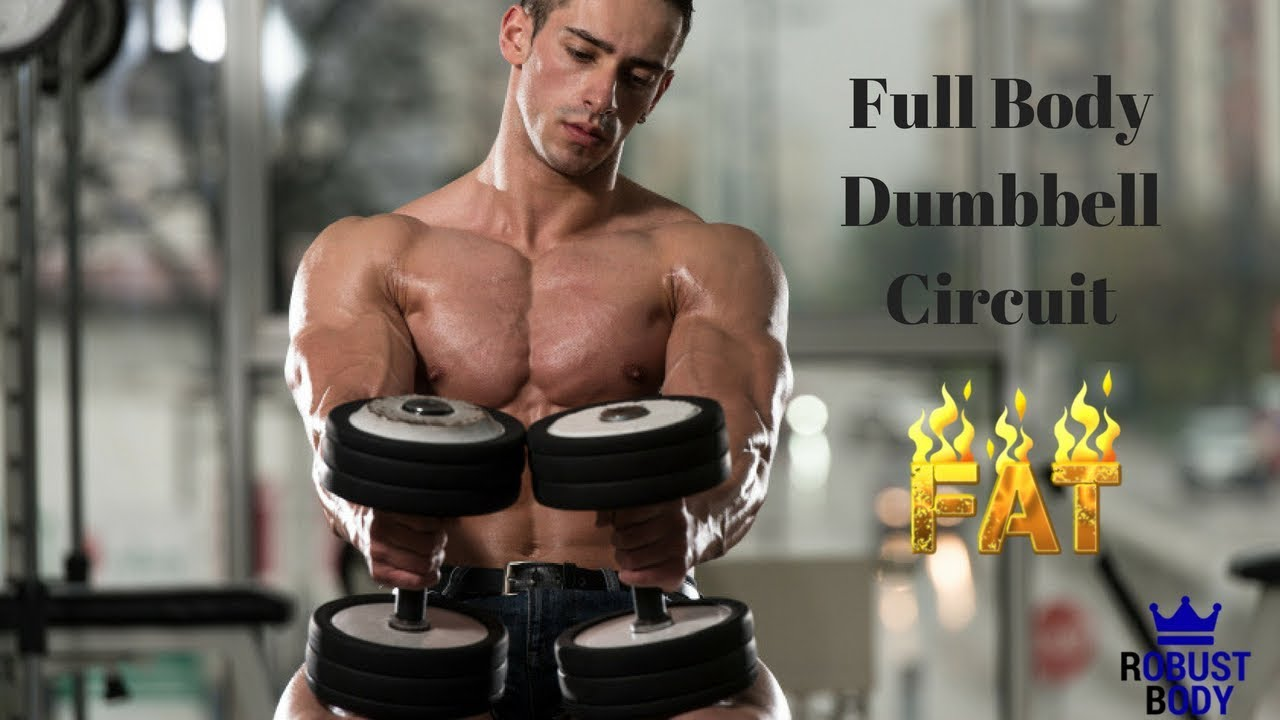 Full Body Dumbbell Circuit Fat Burning Workout Youtube Dumbell Pictures Photos And Images For