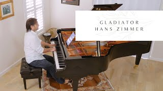 GLADIATOR - NOW WE ARE FREE - PIANO SOLO - HANS ZIMMER