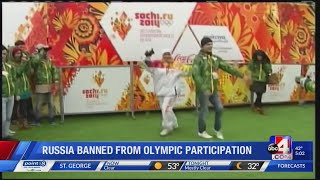 Russia banned from 2020 Olympics