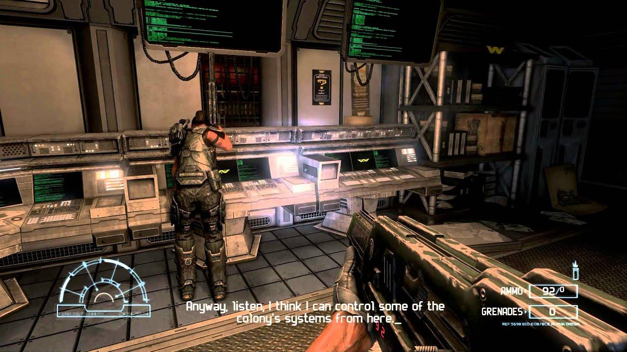 Alien video gameplay