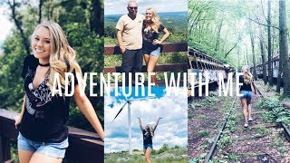ADVENTURE WITH ME   ABANDONED TRAINS + WINDMILLS   VLOG