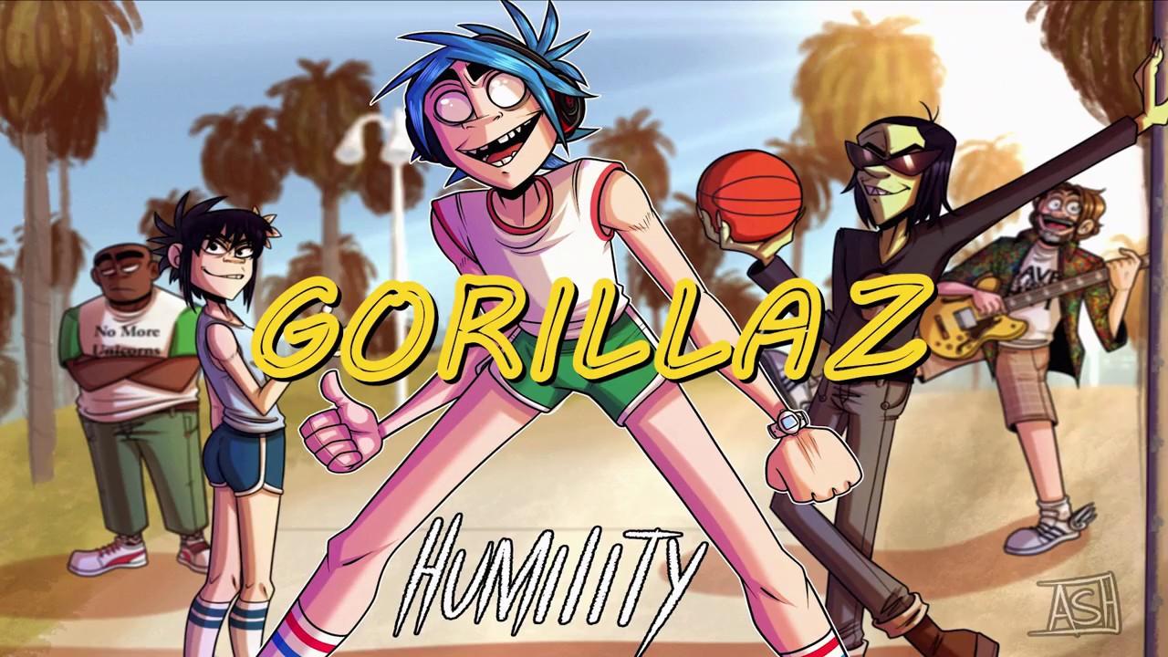 Download Gorillaz - Humility (Lyrics) (HQ Original Audio)