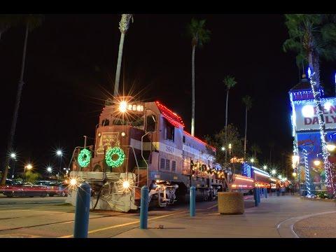 Santa Cruz Holiday Lights Train 2015