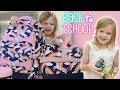 Kindergarten School Supplies HAUL!🦄✏️📚 NEW Pottery Barn Kids Backpack and Lunch Bag!