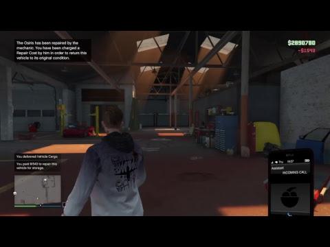 GTA V ONLINE cash making for Smuggler and Run