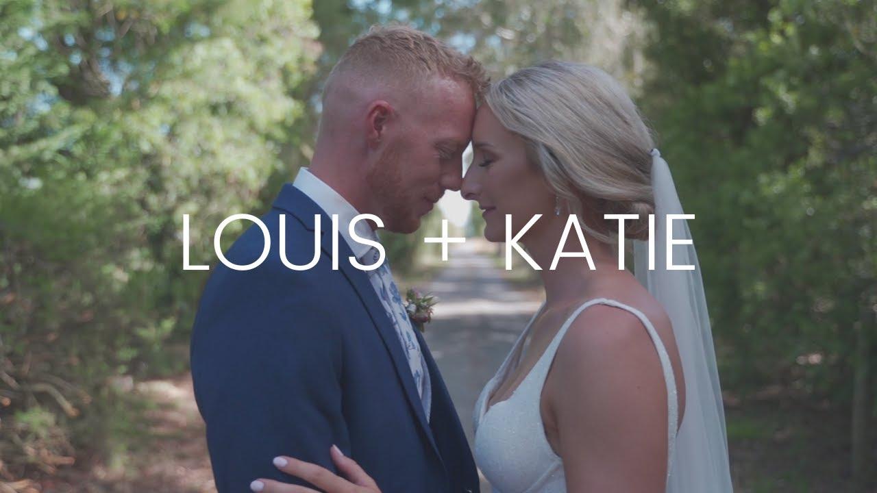 This is Katie and Louis    Darjon Vineyard    Cinematic wedding highlight