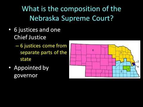 Day 31 How  Nebraska's court system is structured