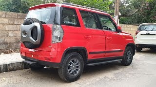Mahindra TUV300 Facelift Launched|Exterior&Interior in 4K 60FPS|Outdoor|Looks Attractive